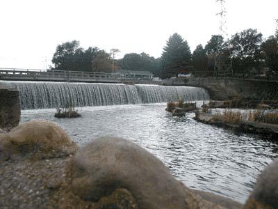 Les chutes de la rivière Kalamazoo